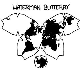 Watermanbutterfly