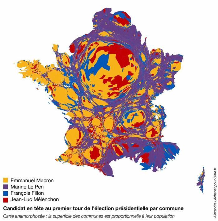 Petrodollars Outre Monde 2017: Cartes De France élections Présidentielles 2017